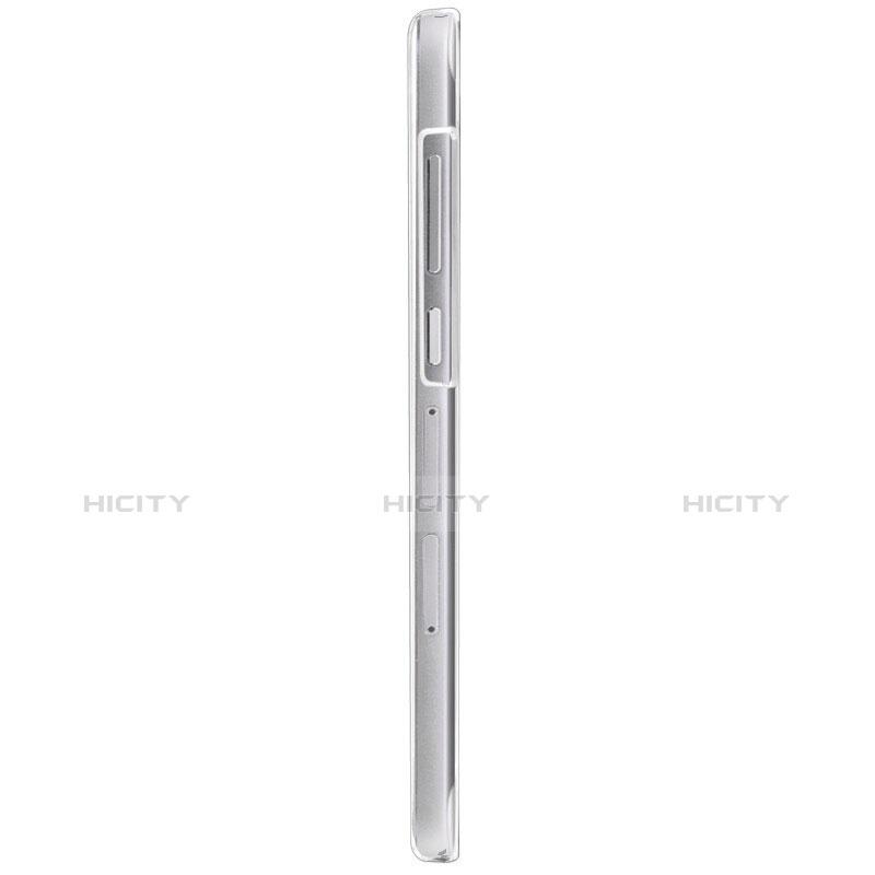 Huawei Ascend G7用極薄ソフトケース シリコンケース 耐衝撃 全面保護 クリア透明 T02 ファーウェイ クリア