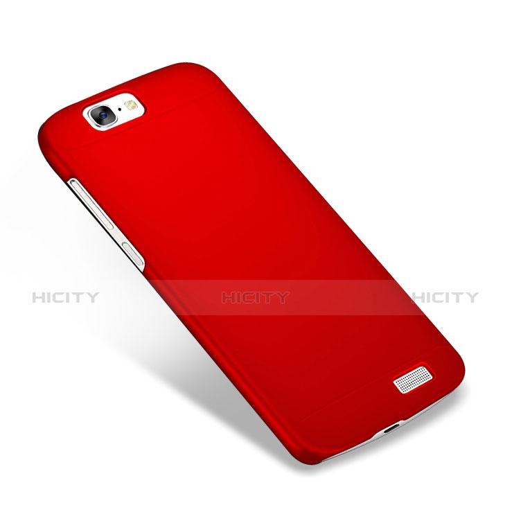 Huawei Ascend G7用ハードケース プラスチック 質感もマット M02 ファーウェイ レッド