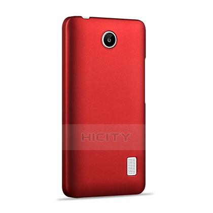 Huawei Ascend Y635 Dual SIM用ハードケース プラスチック 質感もマット ファーウェイ レッド