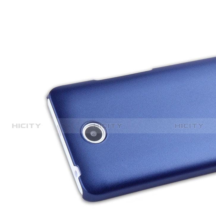 Huawei Ascend Y635 Dual SIM用ハードケース プラスチック 質感もマット ファーウェイ ネイビー