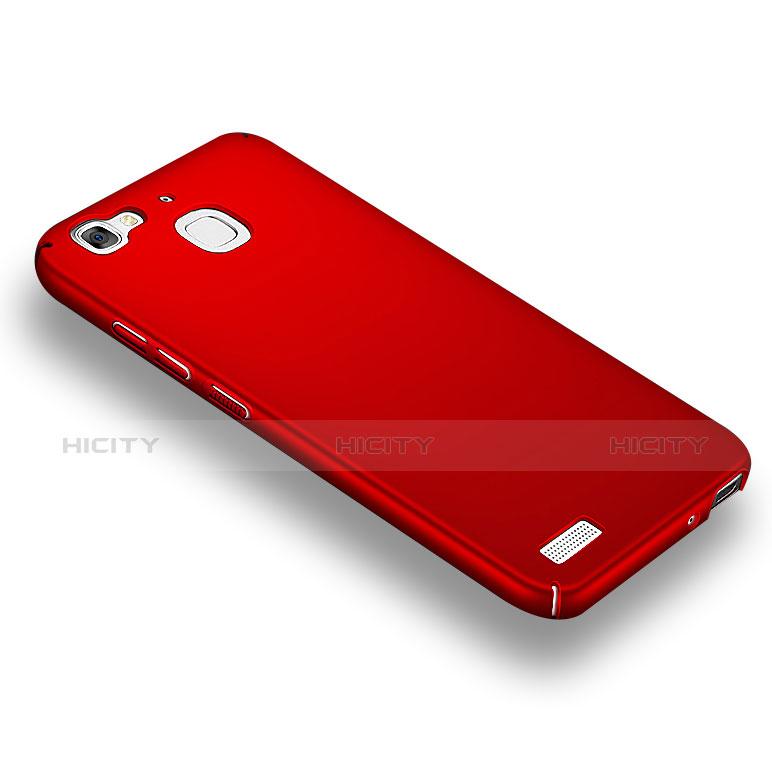 Huawei Enjoy 5S用ハードケース プラスチック 質感もマット M03 ファーウェイ レッド