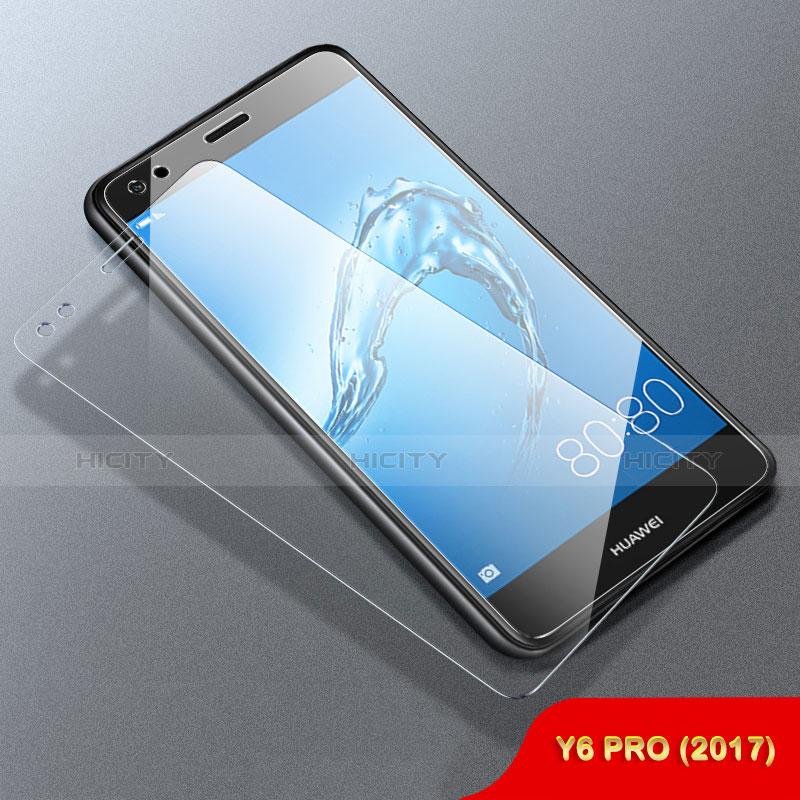 Huawei Enjoy 7用強化ガラス 液晶保護フィルム ファーウェイ クリア
