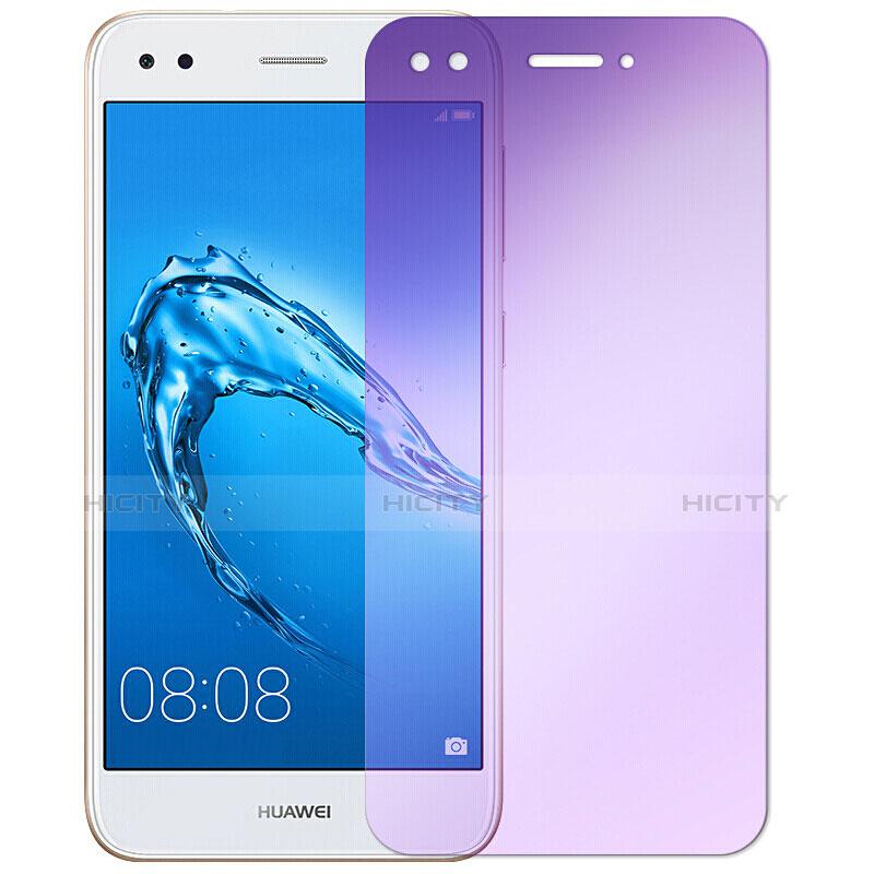Huawei Enjoy 7用アンチグレア ブルーライト 強化ガラス 液晶保護フィルム B01 ファーウェイ クリア