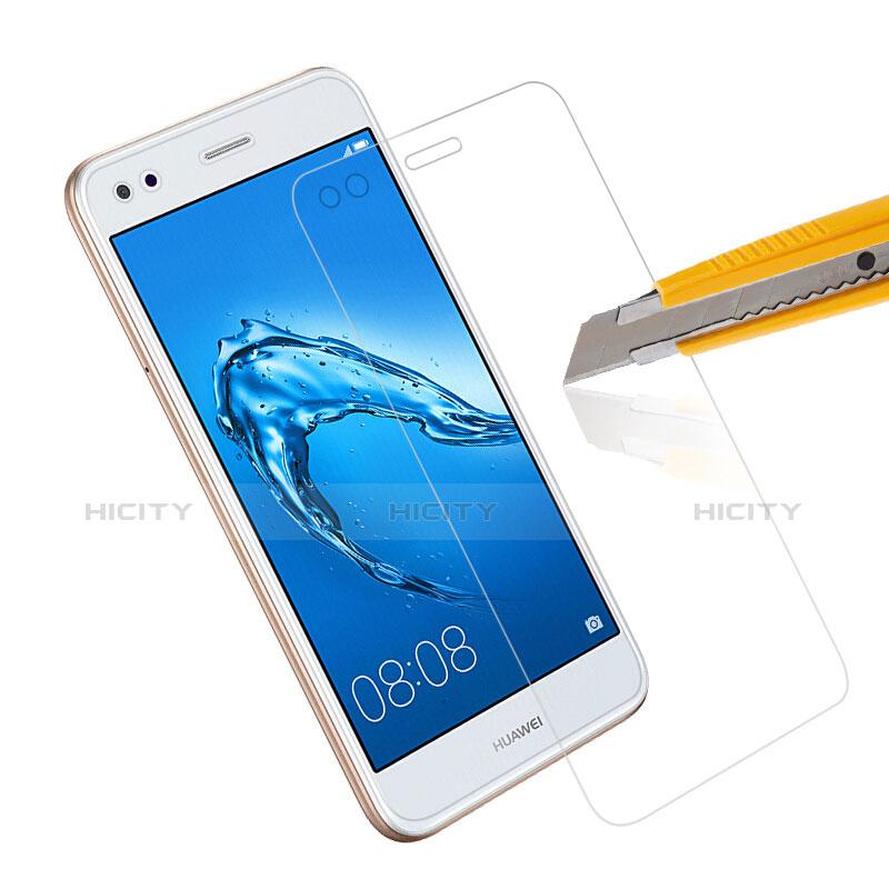 Huawei Enjoy 7用強化ガラス 液晶保護フィルム T01 ファーウェイ クリア