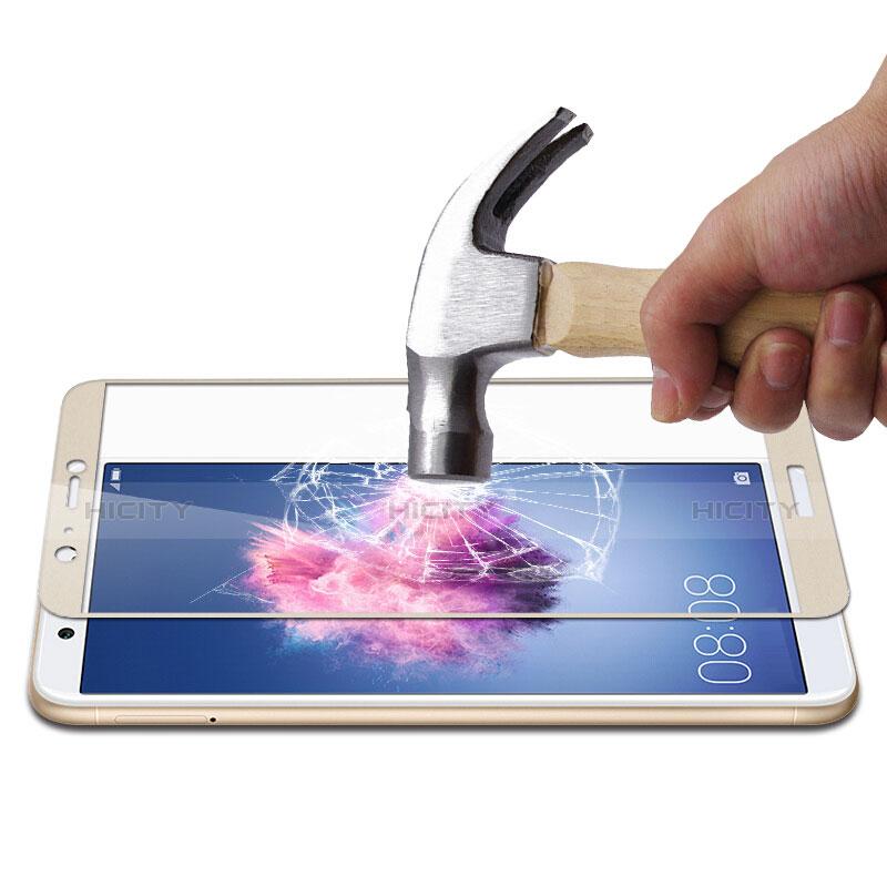 Huawei Enjoy 7S用強化ガラス フル液晶保護フィルム ファーウェイ ゴールド