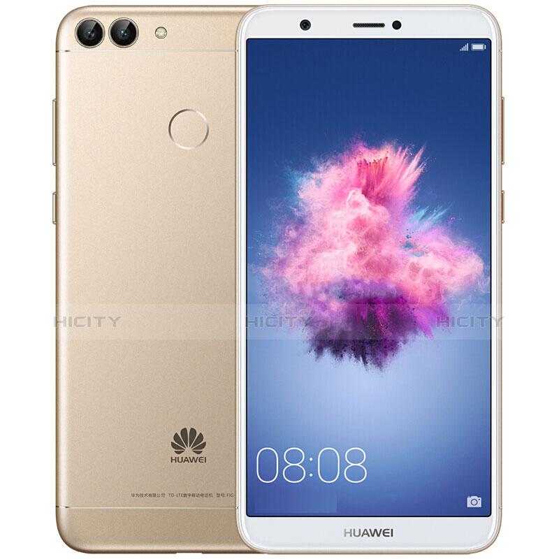 Huawei Enjoy 7S用強化ガラス フル液晶保護フィルム ファーウェイ ホワイト