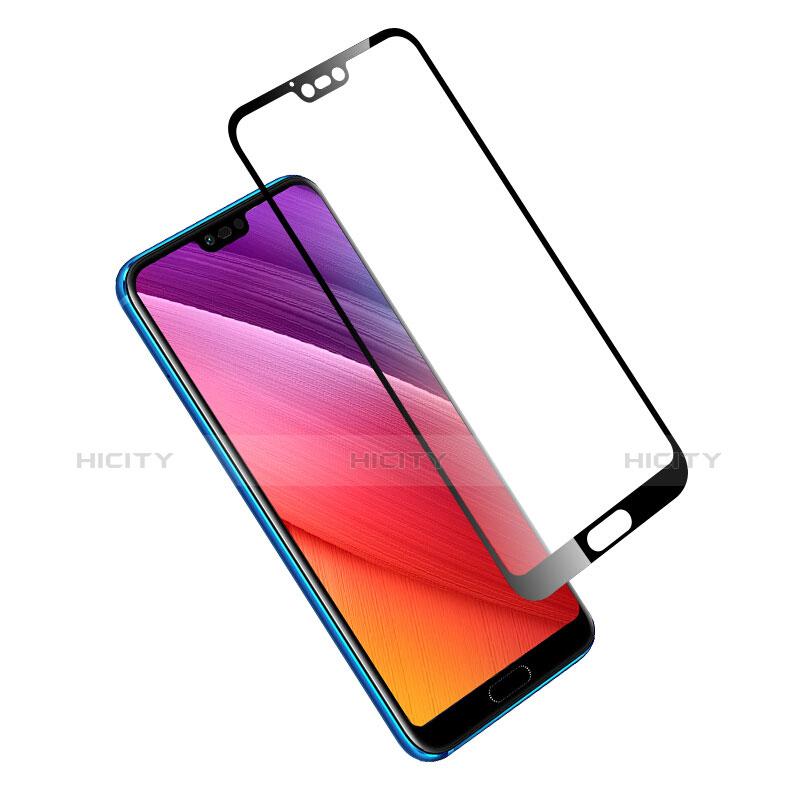 Huawei Honor 10用強化ガラス フル液晶保護フィルム ファーウェイ ブラック