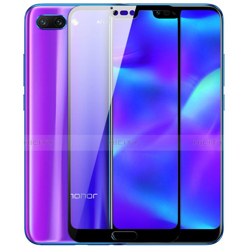 Huawei Honor 10用強化ガラス フル液晶保護フィルム F03 ファーウェイ ブラック