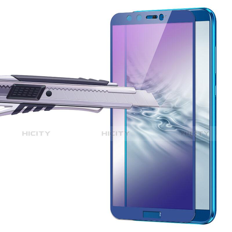 Huawei Honor 9 Lite用強化ガラス フル液晶保護フィルム F04 ファーウェイ ネイビー