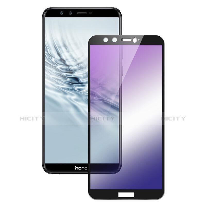 Huawei Honor 9 Lite用強化ガラス フル液晶保護フィルム F04 ファーウェイ ブラック