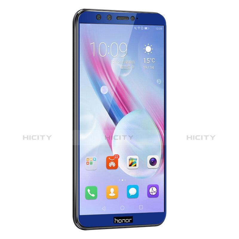 Huawei Honor 9 Lite用強化ガラス フル液晶保護フィルム ファーウェイ ネイビー