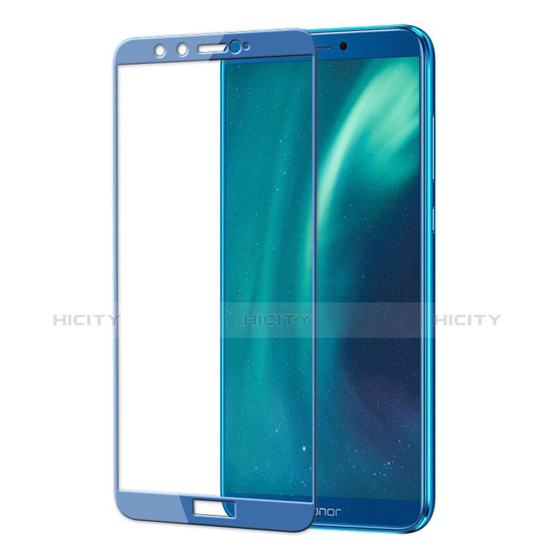 Huawei Honor 9 Lite用強化ガラス フル液晶保護フィルム F02 ファーウェイ ネイビー