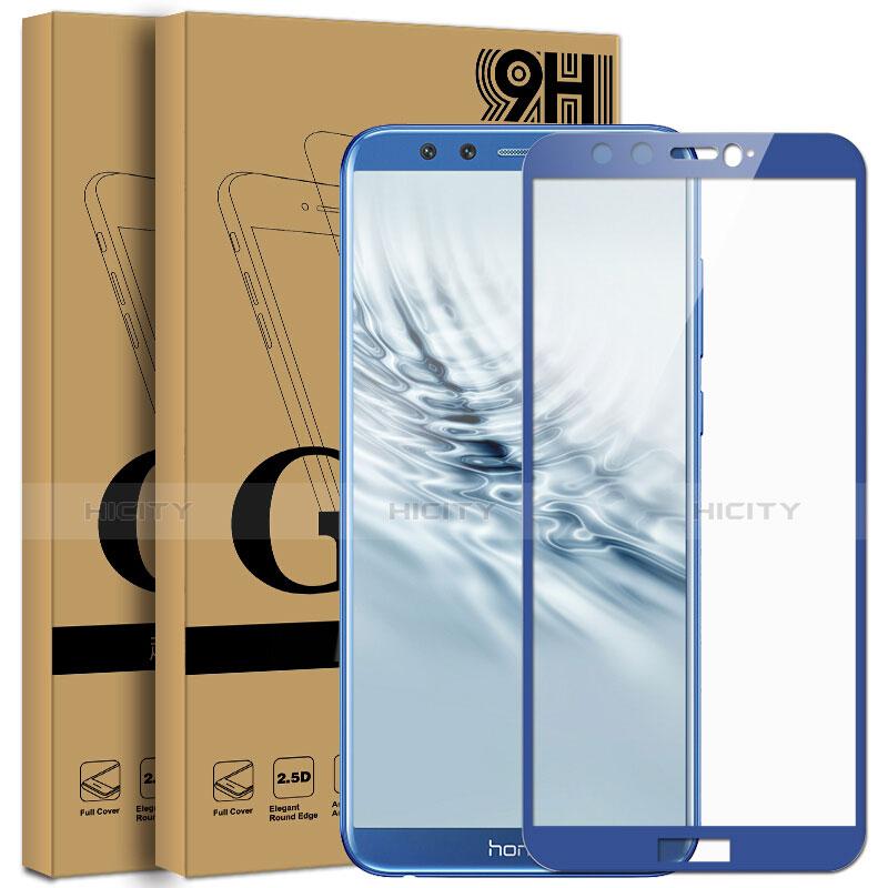 Huawei Honor 9 Lite用強化ガラス フル液晶保護フィルム F05 ファーウェイ ネイビー