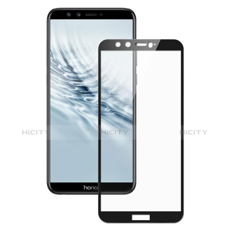 Huawei Honor 9 Lite用強化ガラス フル液晶保護フィルム F05 ファーウェイ ブラック