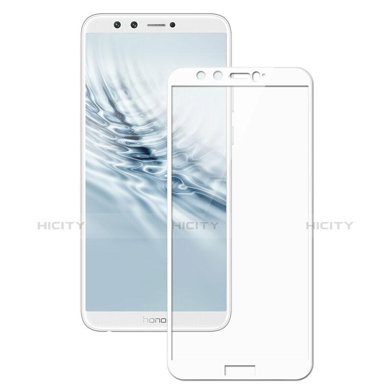 Huawei Honor 9 Lite用強化ガラス フル液晶保護フィルム F05 ファーウェイ ホワイト