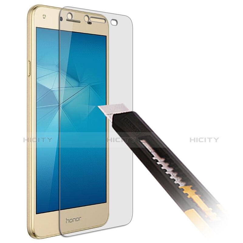 Huawei Honor Play 5用強化ガラス 液晶保護フィルム T01 ファーウェイ クリア