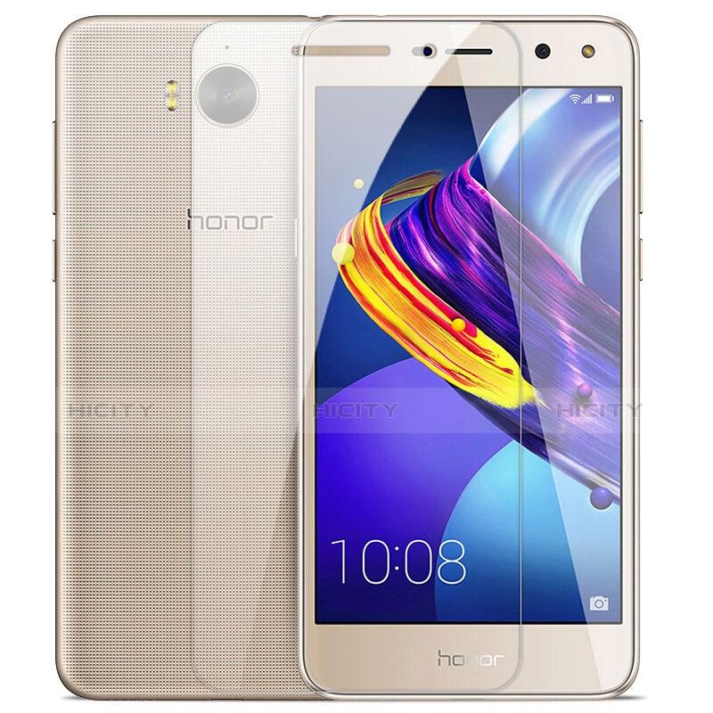 Huawei Honor Play 6用強化ガラス 液晶保護フィルム T01 ファーウェイ クリア