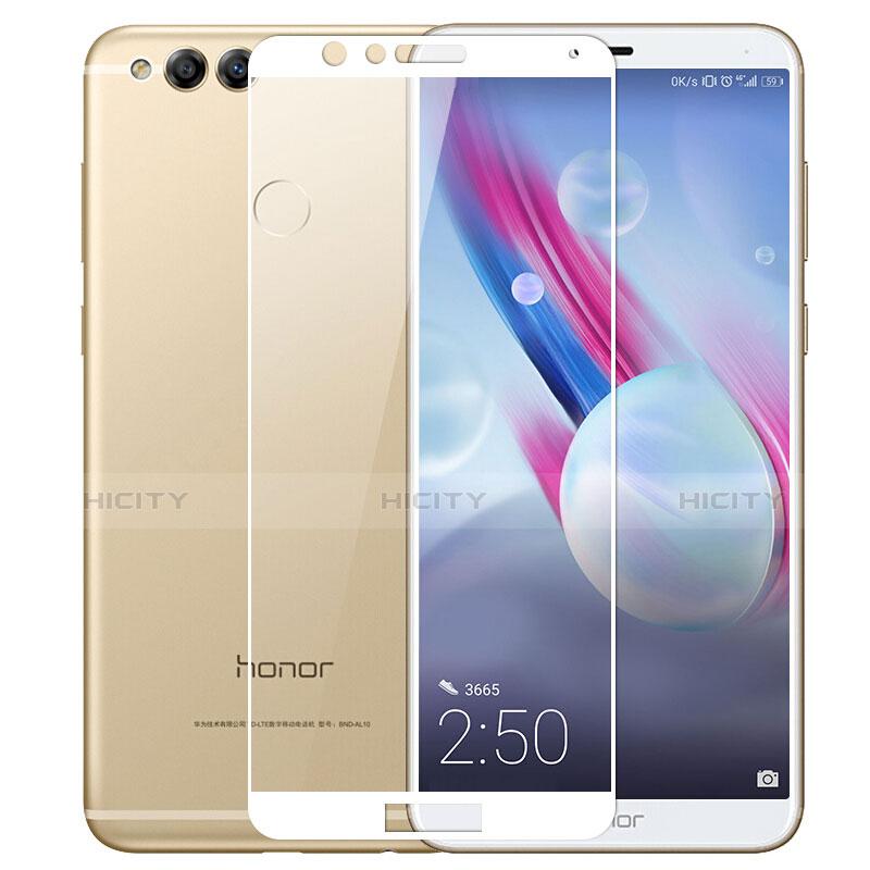 Huawei Honor Play 7X用強化ガラス フル液晶保護フィルム ファーウェイ ホワイト