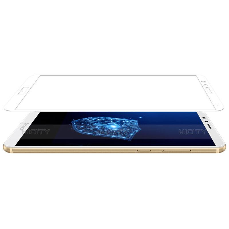 Huawei Honor Play 7X用強化ガラス フル液晶保護フィルム F03 ファーウェイ ホワイト