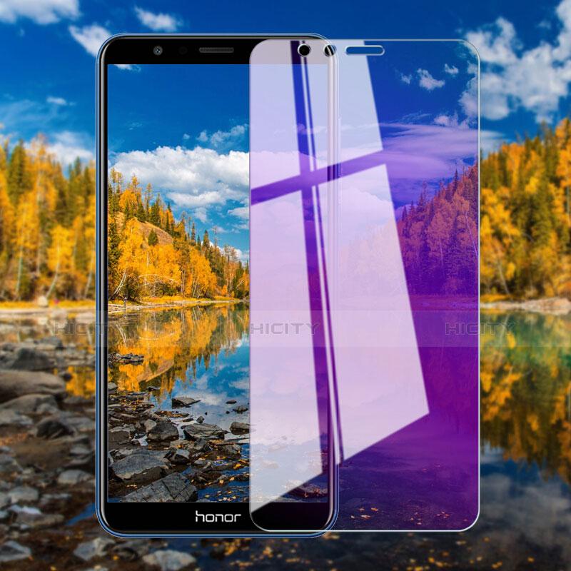 Huawei Honor Play 7X用アンチグレア ブルーライト 強化ガラス 液晶保護フィルム B01 ファーウェイ クリア