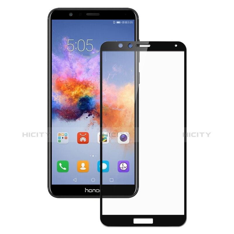 Huawei Honor Play 7X用強化ガラス フル液晶保護フィルム F05 ファーウェイ ブラック
