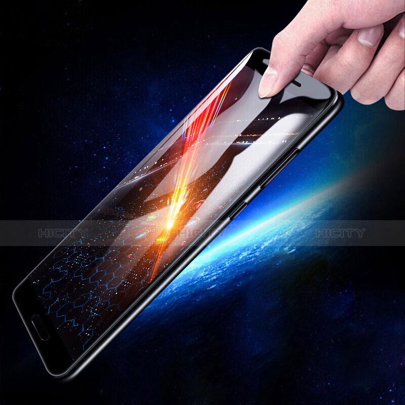 Huawei Honor V10用強化ガラス フル液晶保護フィルム F02 ファーウェイ ブラック