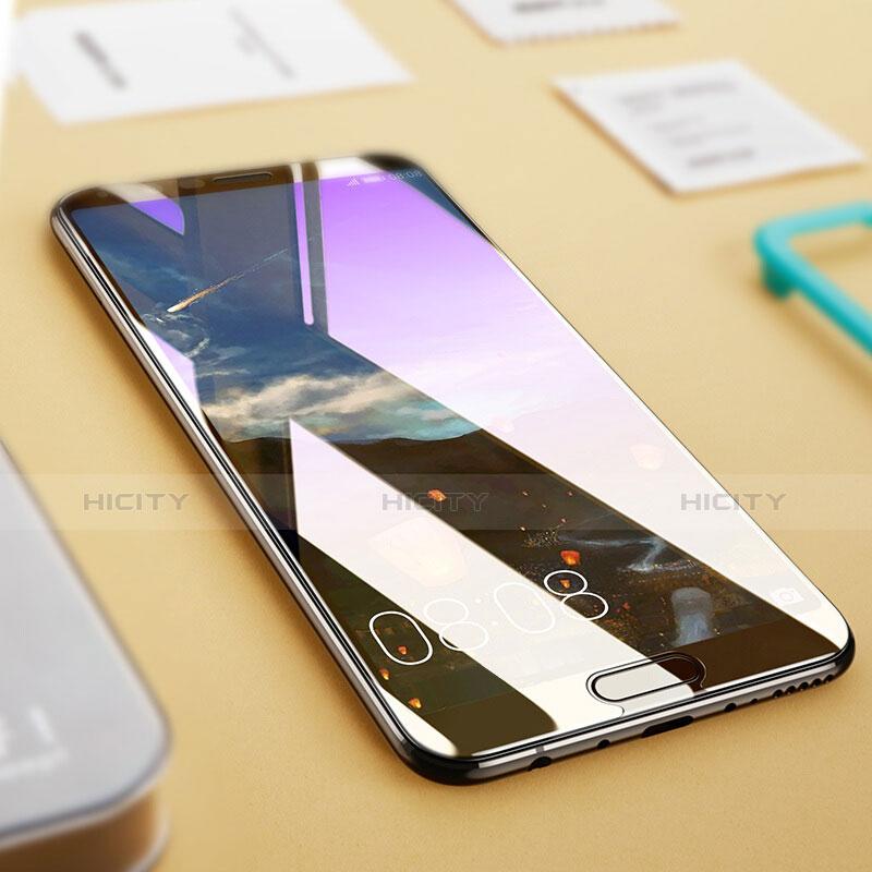 Huawei Honor V10用アンチグレア ブルーライト 強化ガラス 液晶保護フィルム ファーウェイ ブラック