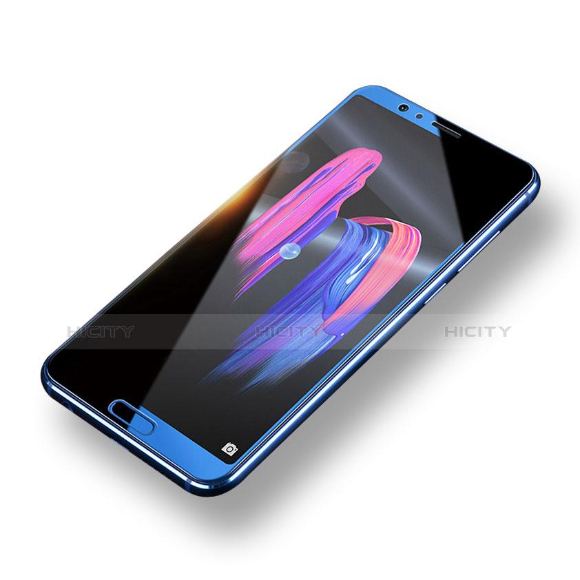 Huawei Honor V10用強化ガラス フル液晶保護フィルム F06 ファーウェイ ホワイト