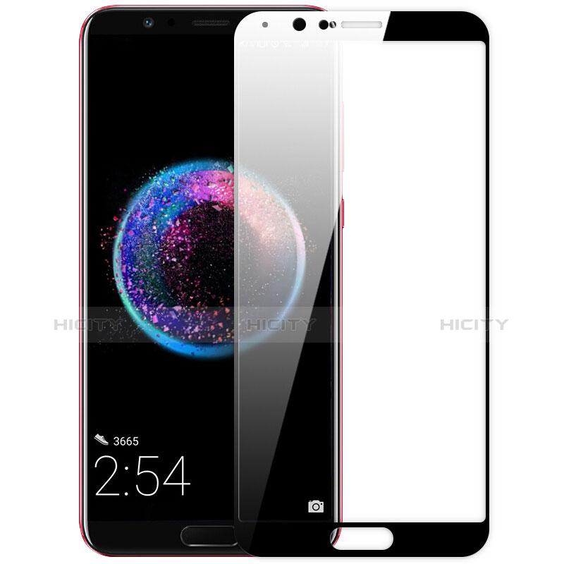 Huawei Honor View 10用強化ガラス フル液晶保護フィルム ファーウェイ ブラック