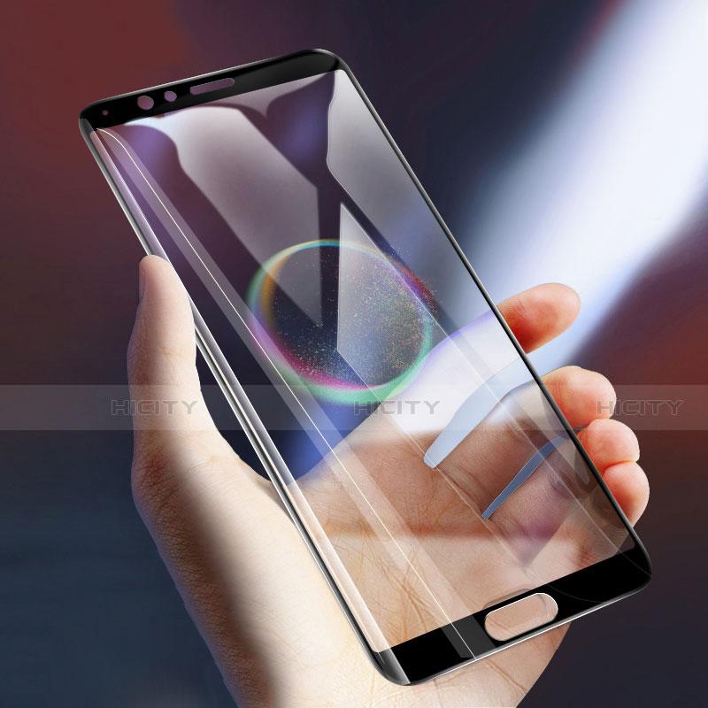 Huawei Honor View 10用強化ガラス フル液晶保護フィルム F02 ファーウェイ ブラック