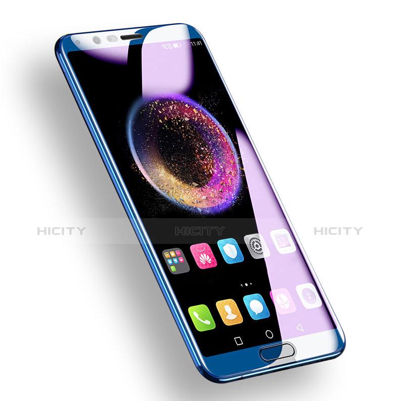 Huawei Honor View 10用強化ガラス フル液晶保護フィルム F03 ファーウェイ ネイビー