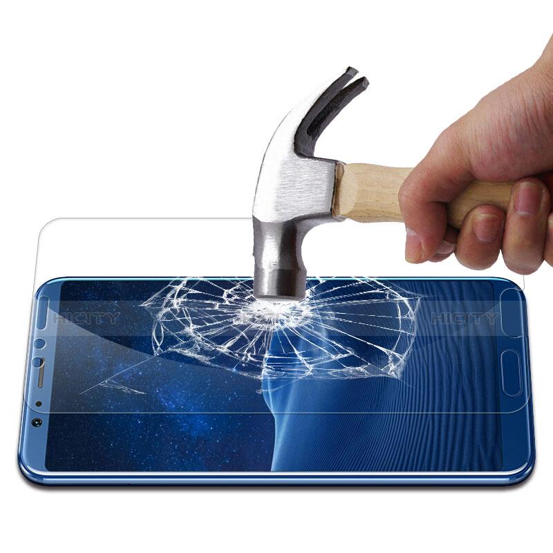 Huawei Honor View 10用強化ガラス 液晶保護フィルム T06 ファーウェイ クリア