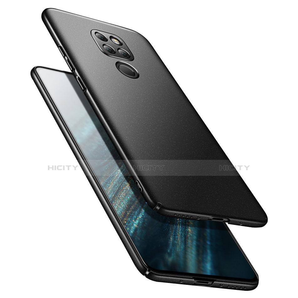 Huawei Mate 20用ハードケース プラスチック 質感もマット ファーウェイ ブラック