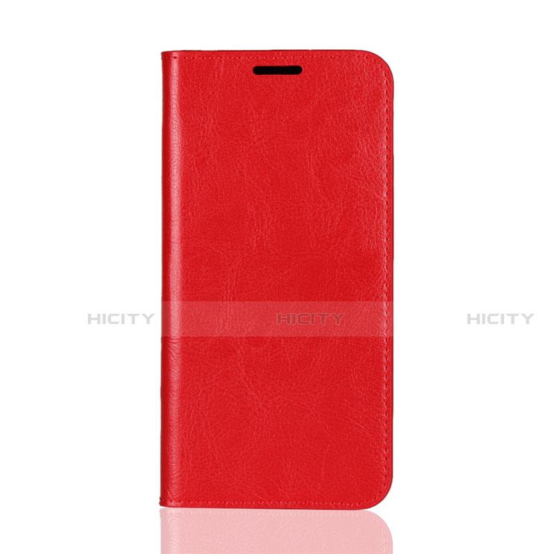 Huawei Mate 20 Lite用手帳型 レザーケース スタンド カバー L05 ファーウェイ レッド