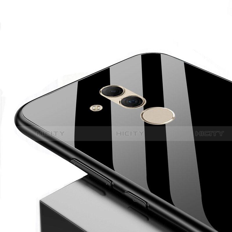 Huawei Mate 20 Lite用ハイブリットバンパーケース プラスチック 鏡面 カバー M01 ファーウェイ