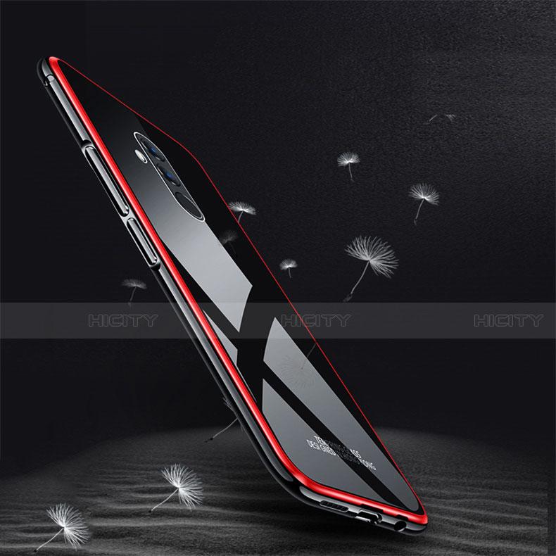 Huawei Mate 20 Lite用ケース 高級感 手触り良い アルミメタル 製の金属製 バンパー 鏡面 カバー M02 ファーウェイ