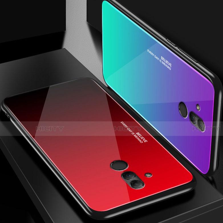 Huawei Mate 20 Lite用ハイブリットバンパーケース プラスチック 鏡面 カバー M02 ファーウェイ
