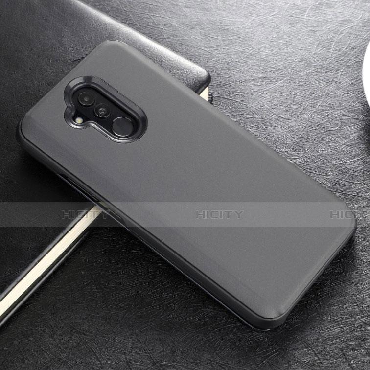 Huawei Mate 20 Lite用手帳型 レザーケース スタンド 鏡面 カバー L02 ファーウェイ