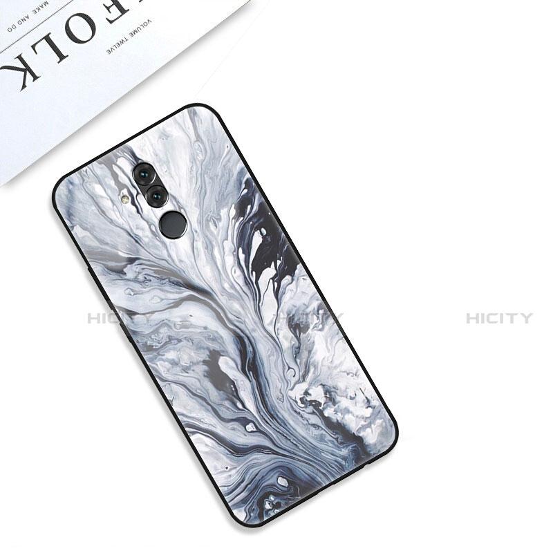 Huawei Mate 20 Lite用ハイブリットバンパーケース プラスチック パターン 鏡面 カバー S01 ファーウェイ