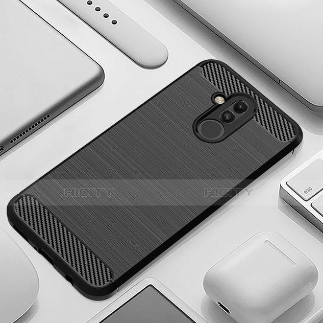 Huawei Mate 20 Lite用シリコンケース ソフトタッチラバー ツイル カバー S01 ファーウェイ
