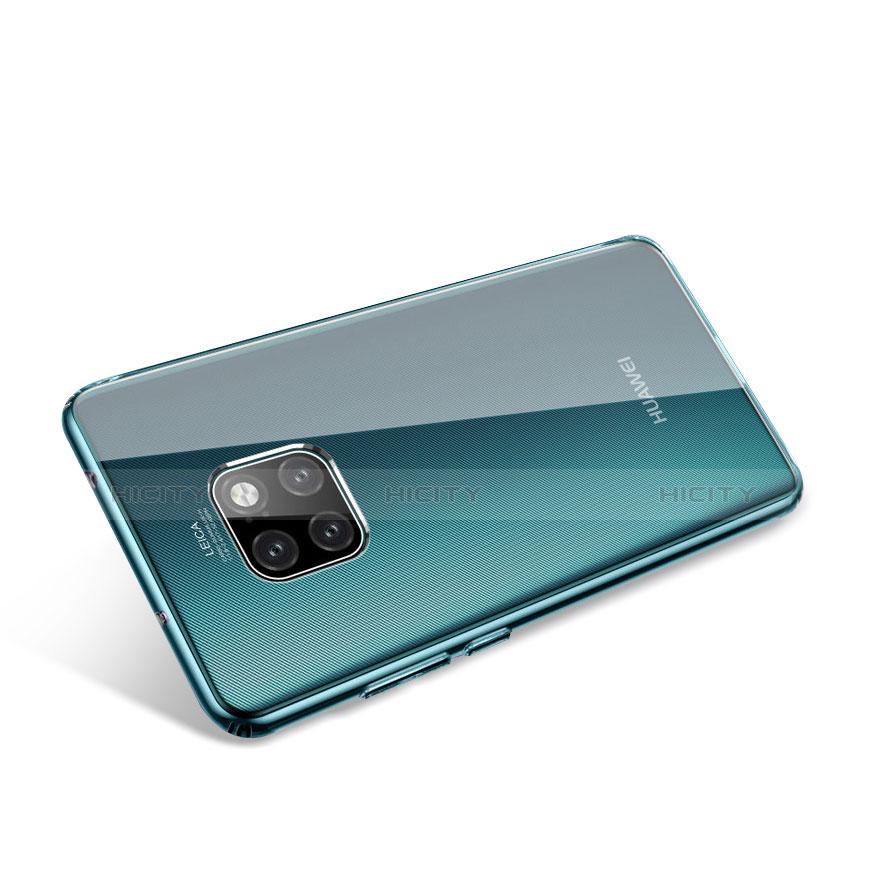 Huawei Mate 20 Pro用極薄ソフトケース シリコンケース 耐衝撃 全面保護 クリア透明 T03 ファーウェイ クリア