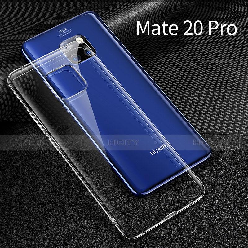 Huawei Mate 20 Pro用極薄ソフトケース シリコンケース 耐衝撃 全面保護 透明 H01 ファーウェイ