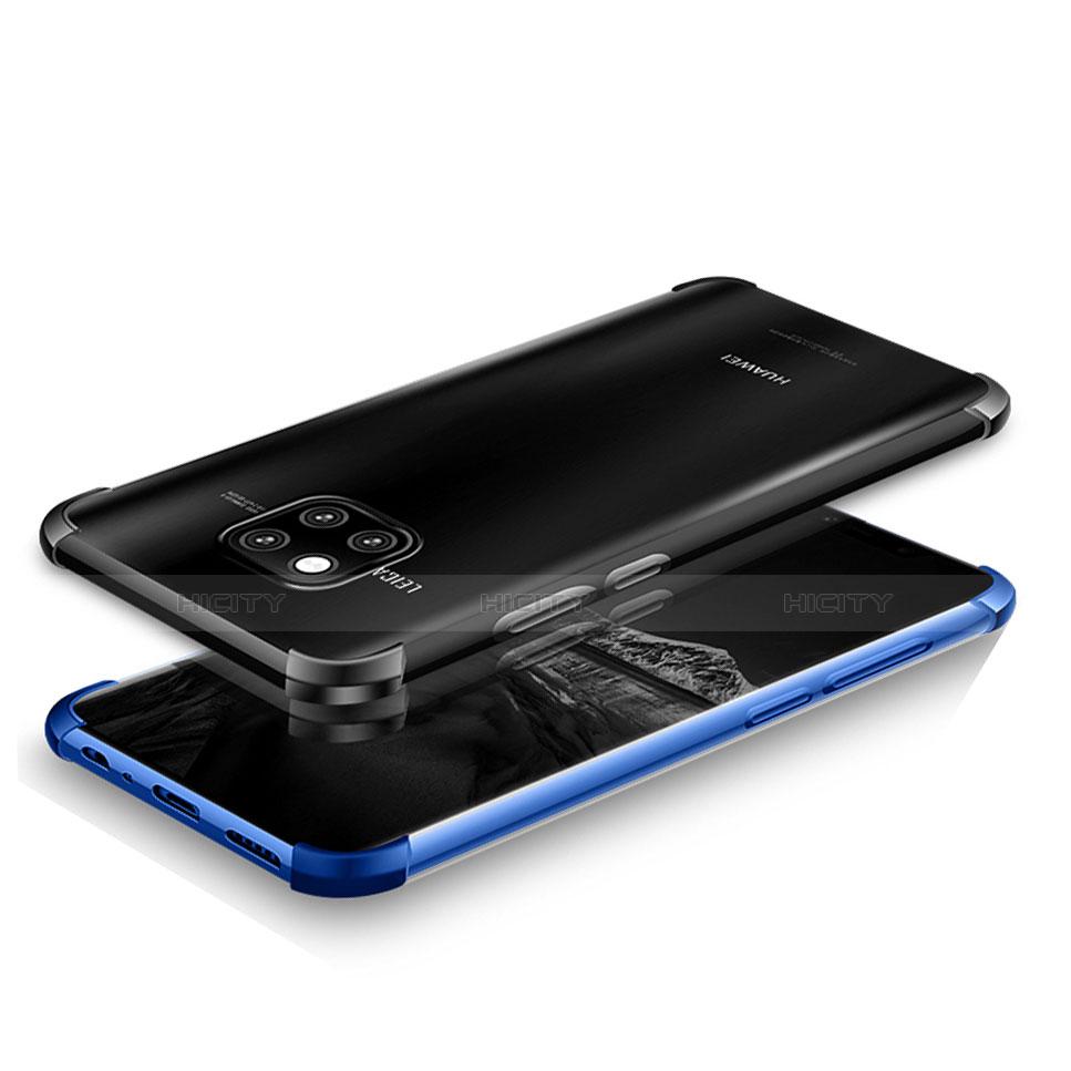 Huawei Mate 20 Pro用極薄ソフトケース シリコンケース 耐衝撃 全面保護 透明 U03 ファーウェイ