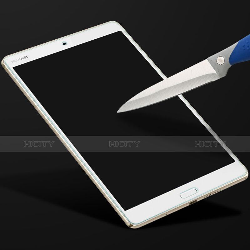 Huawei MediaPad M3用強化ガラス 液晶保護フィルム T01 ファーウェイ クリア