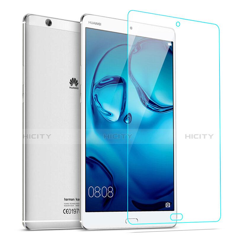 Huawei MediaPad M3用強化ガラス 液晶保護フィルム T02 ファーウェイ クリア