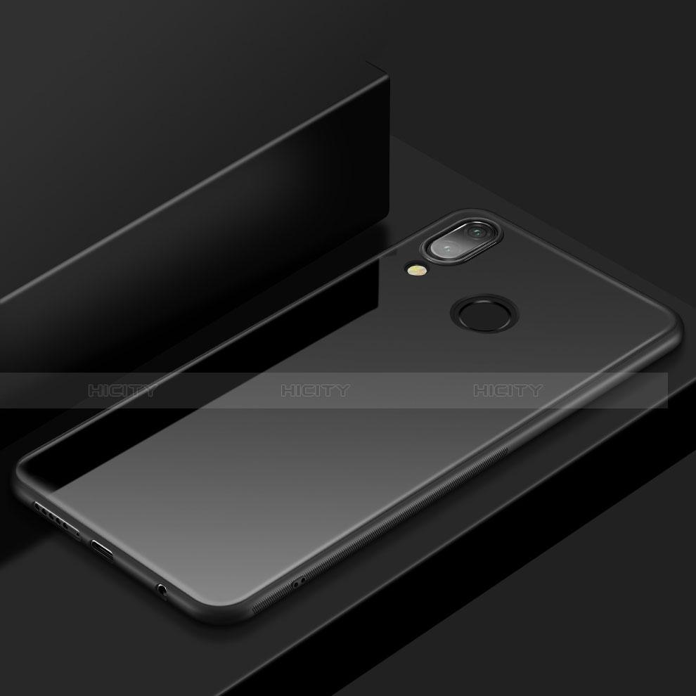 Huawei Nova 3e用極薄ソフトケース シリコンケース 耐衝撃 全面保護 S05 ファーウェイ ブラック