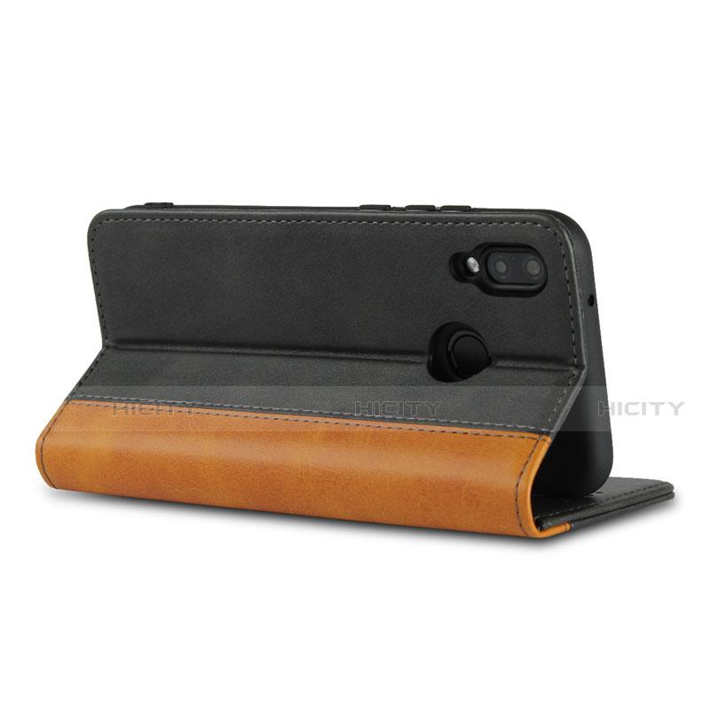 Huawei Nova 3e用手帳型 レザーケース スタンド カバー L04 ファーウェイ