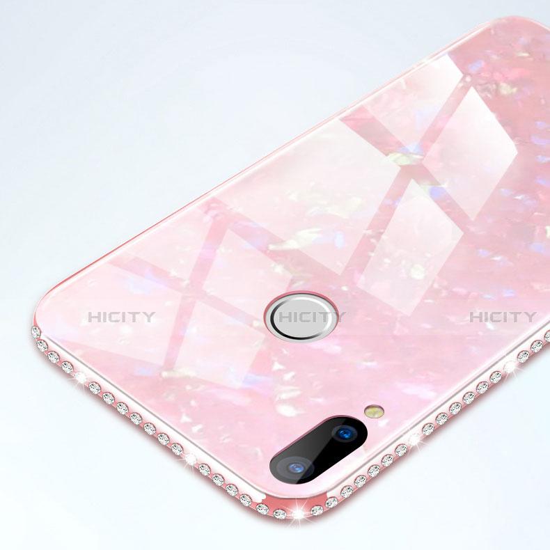 Huawei Nova 3e用ハイブリットバンパーケース プラスチック 鏡面 カバー M01 ファーウェイ