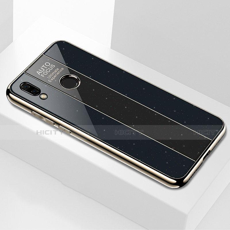 Huawei Nova 3e用ハイブリットバンパーケース プラスチック 鏡面 カバー M03 ファーウェイ