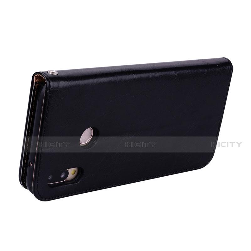 Huawei Nova 3e用手帳型 レザーケース スタンド カバー L07 ファーウェイ